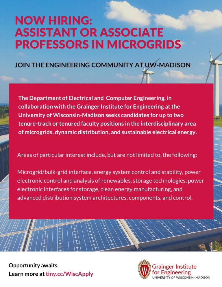 Microgrids recruitment flyer