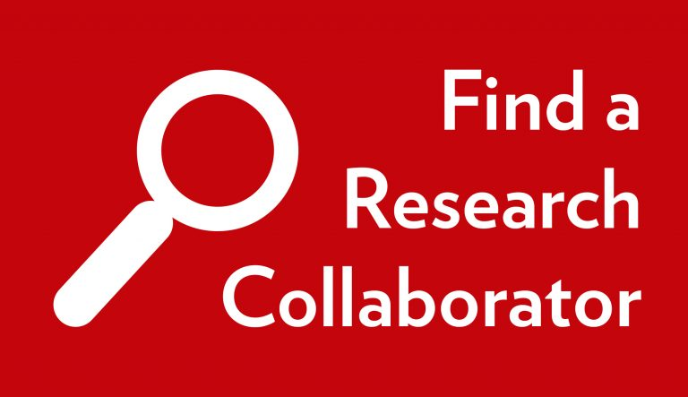 Find a research Collaborator Button