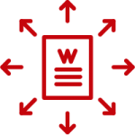 Distributed Document Icon