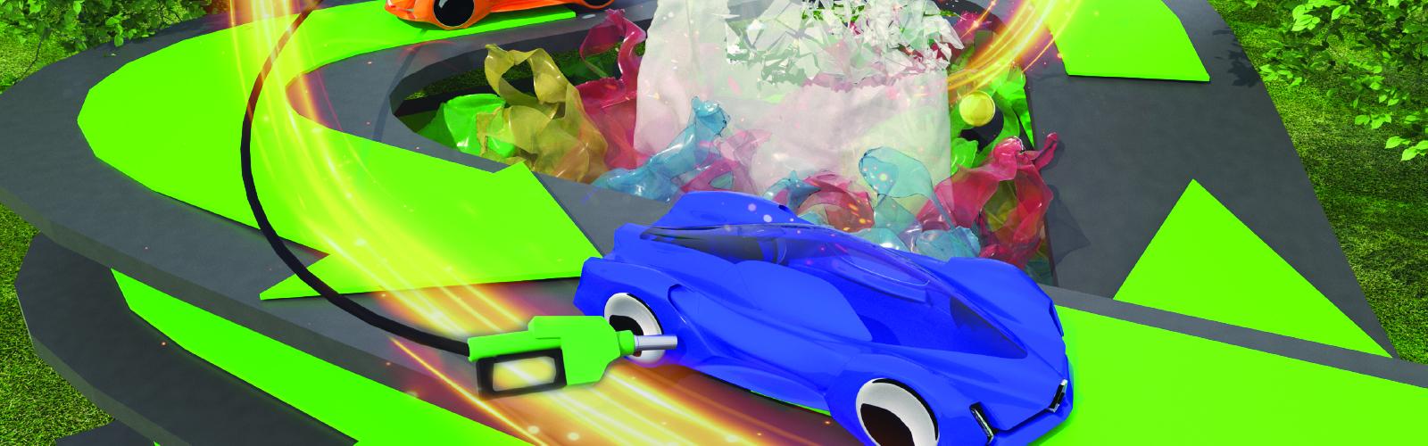 Car 3D graphic