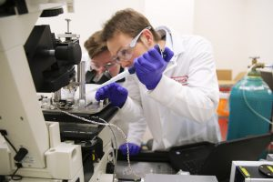 Christian Franck in Lab for PANTHER