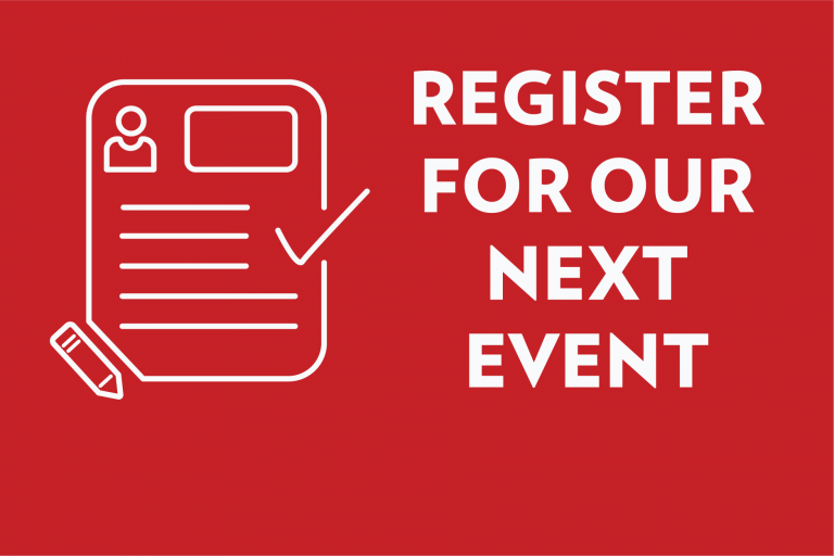 register for our next event button